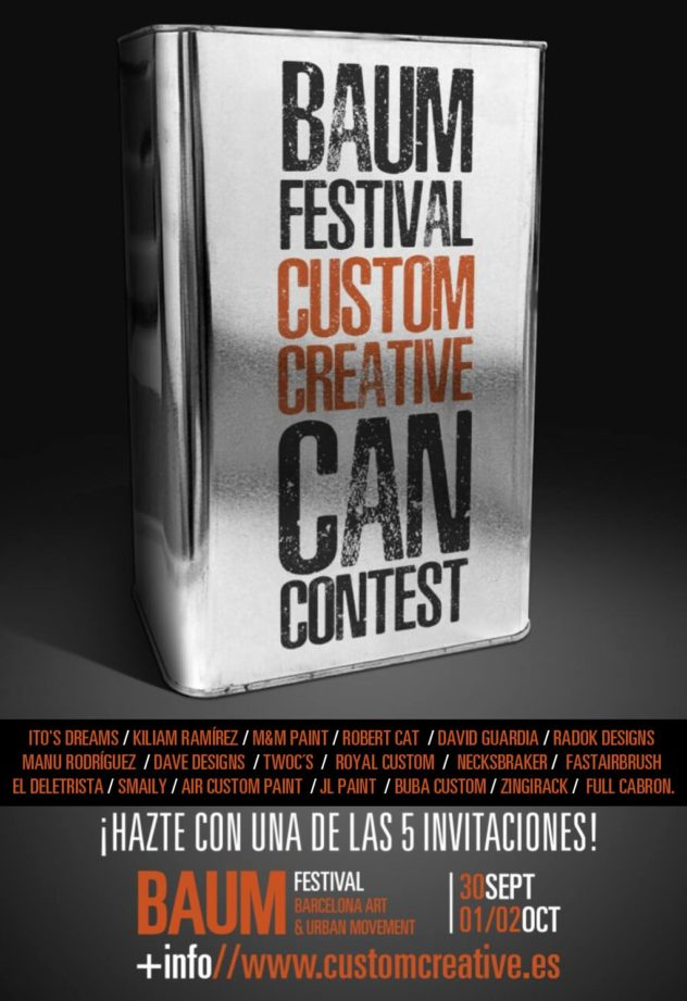 CUSTOM CREATIVE CAN CONTEST